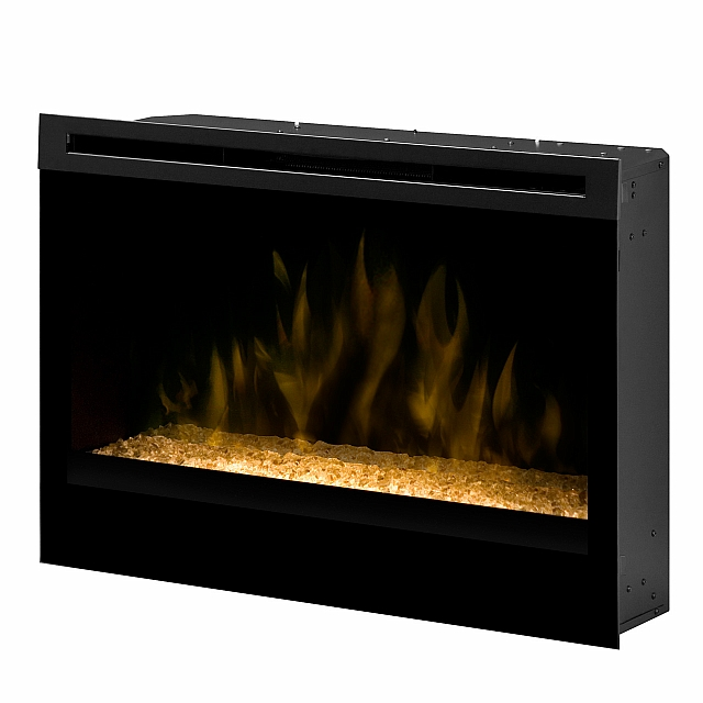 33 inch Self-trimming Electric Firebox - Glass Ember Bed Model # DFG3033