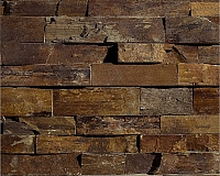 ERTHCOVERINGS OUTBACK BROWN LEDGESTONE (24N) (24N-C)