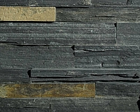ERTHCOVERINGS SPRINGWOOD BLACK LEDGESTONE (18N) (18N-C)