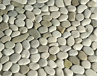 ERTHCOVERINGS IVORY BLEND PEBBLES (MX-005)