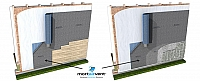 Mortairvent - Rainscreen & Drainage System